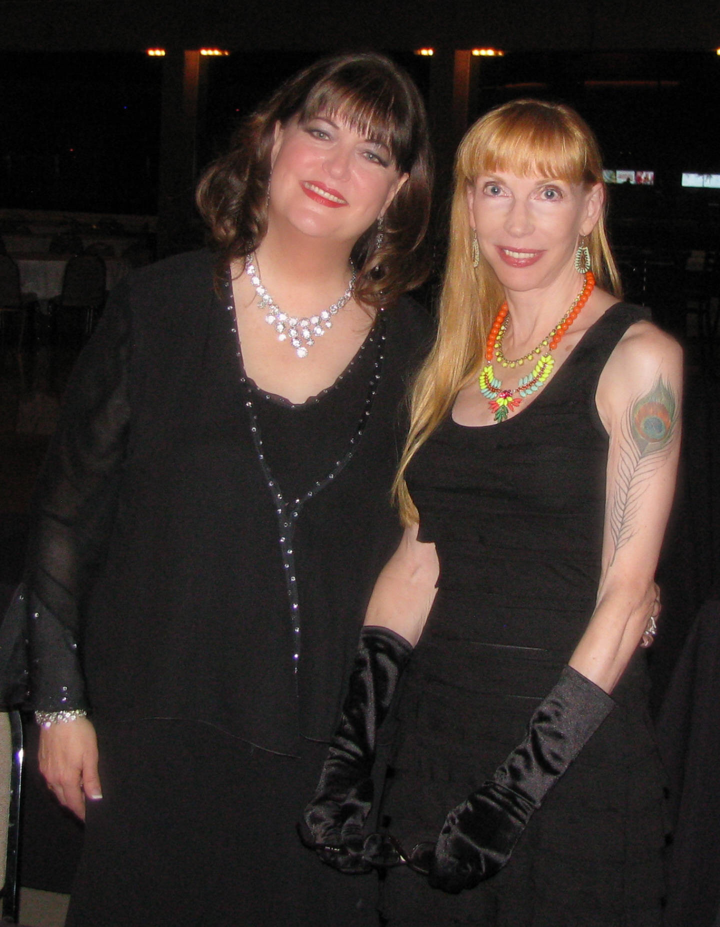 Laura with Ann Hampton Callaway