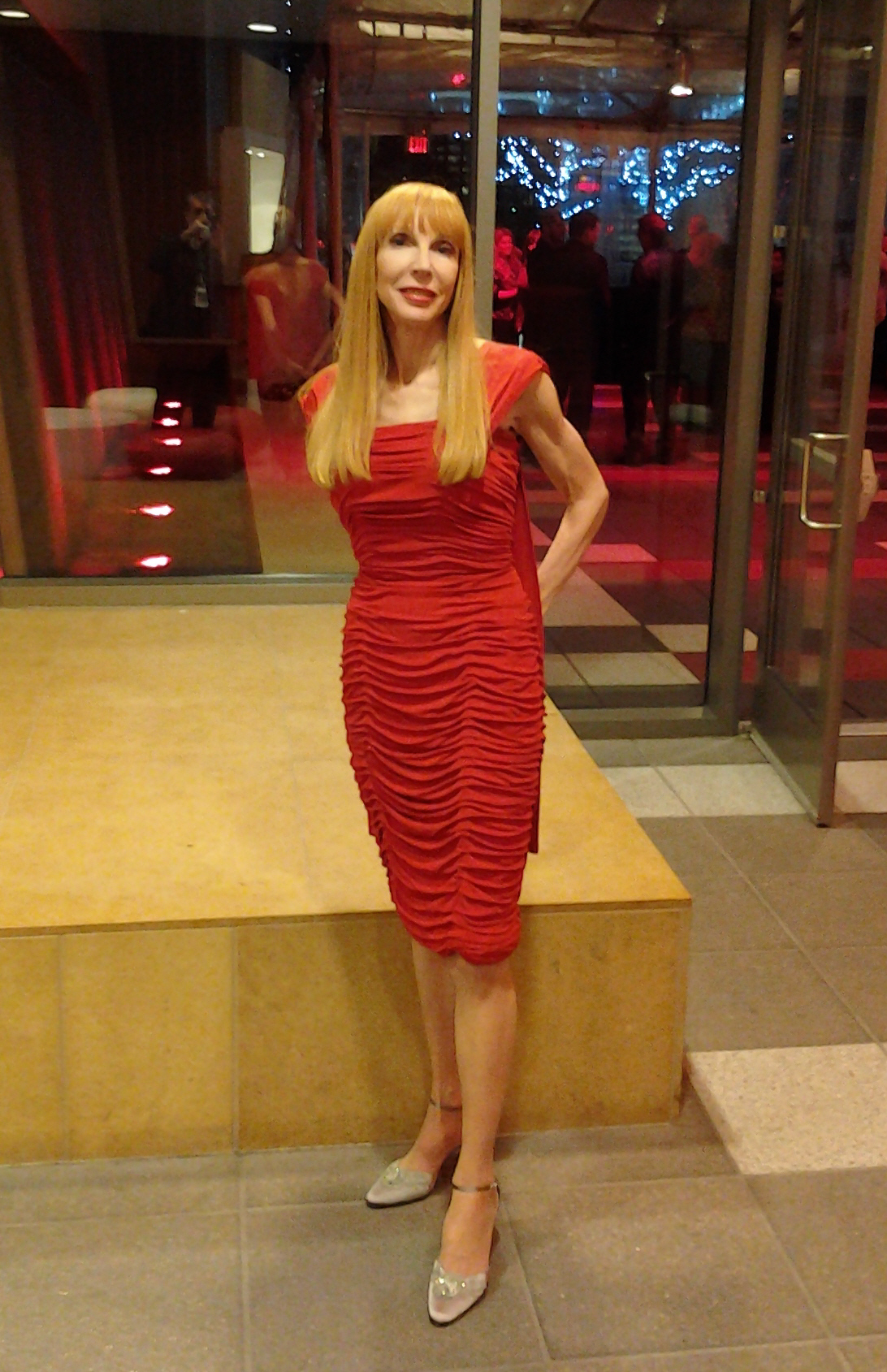 Red Dress at Grammy Museum